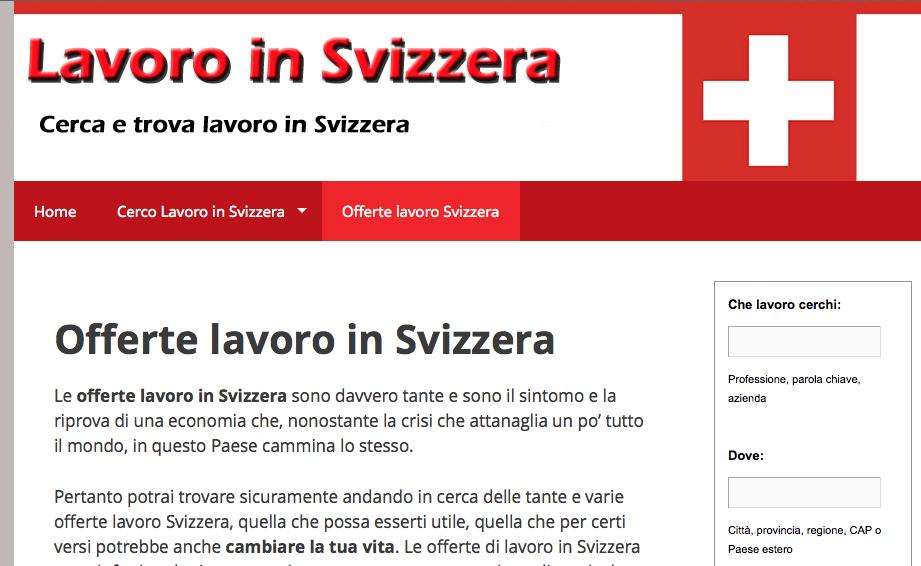 Valtellina news notizie da sondrio e provincia la for Lavoro per architetti in svizzera