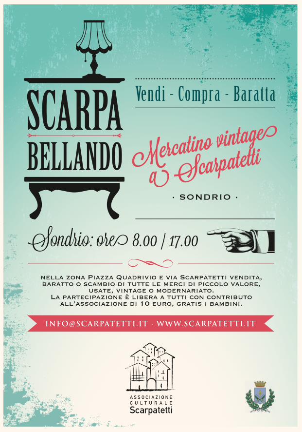 Valtellina news notizie da sondrio e provincia sondrio for Mercatino dell usato cava dei tirreni